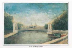 Paris landscape 1928
