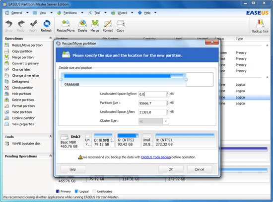 EaseUS Partition Master 9.0 Professional Edition
