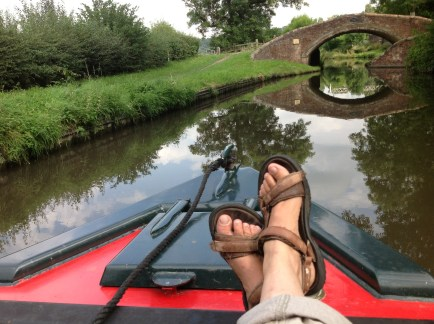Feet and bridge