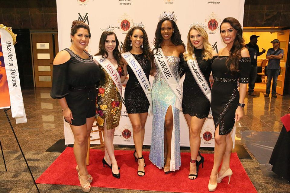 Miss DE 2018 with VM Bistro