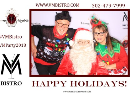 happy holidays from vm bistro