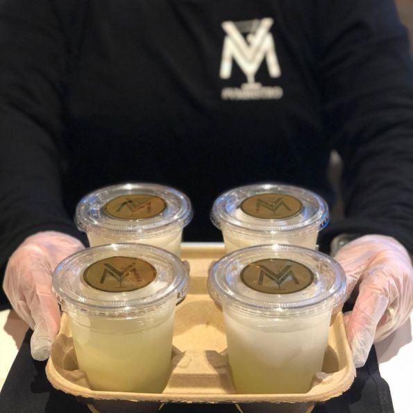 Takeout Martinis to Go at VM Bistro