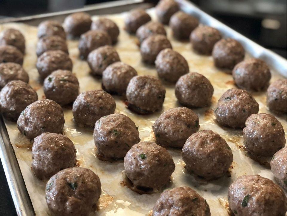 Meatballs from VM Bistro 2020