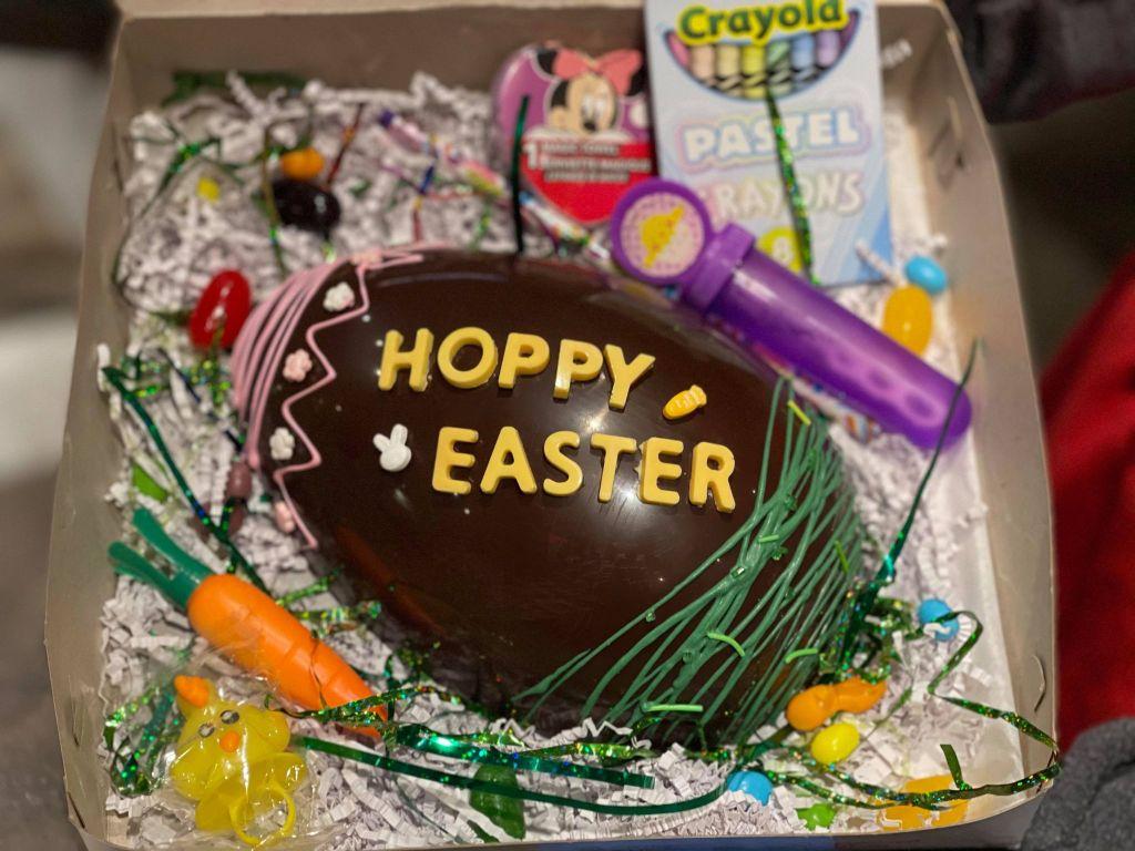 Easter Box for Kids on Easter