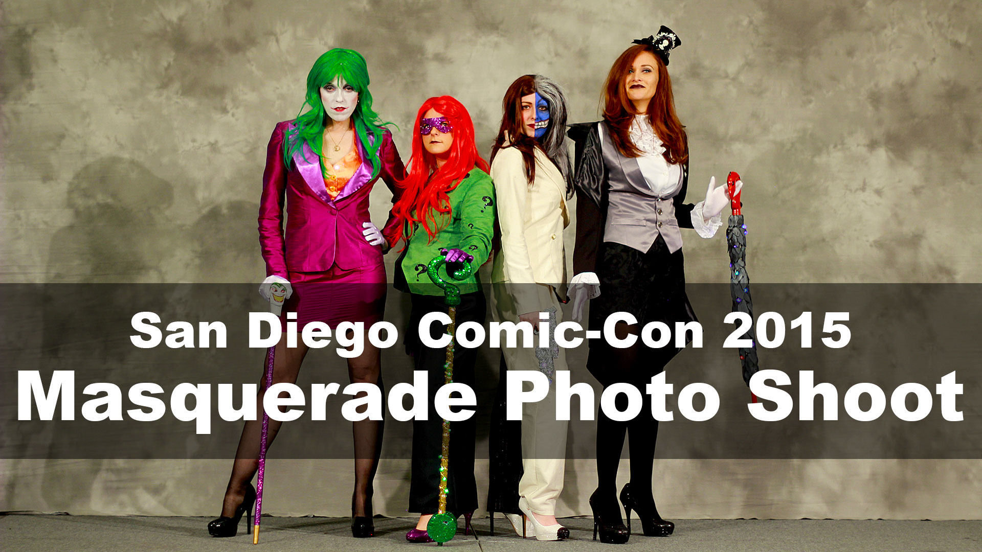 Comic-Con 2015 Masquerade Photo Shoot