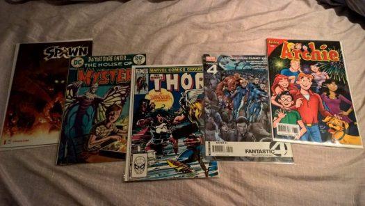 Repeating number comics