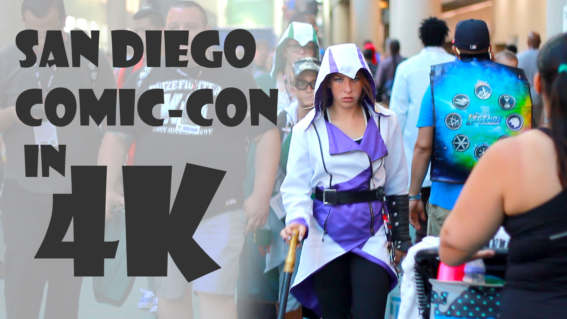 Comic-Con 2016 Tour in 4K