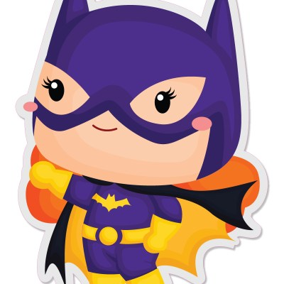 Batgirl Vinyl Stickers