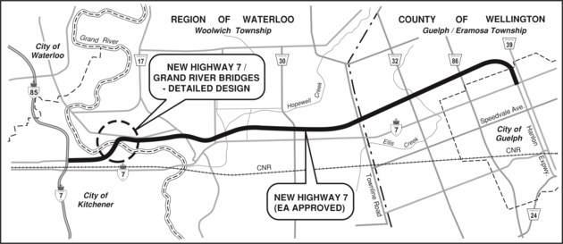 Completion date for new Highway 7 now 'beyond 2021