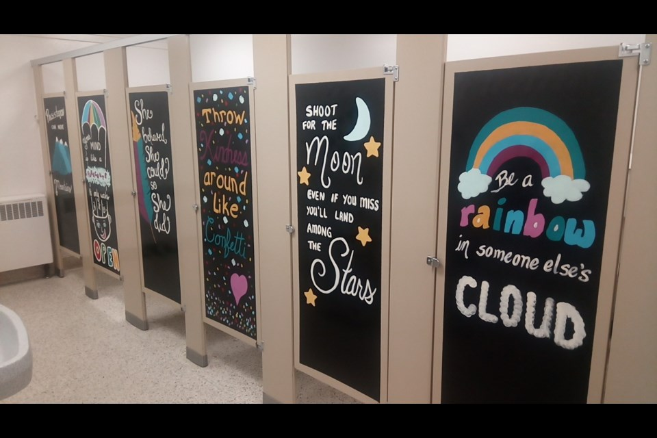 Bathroom Stalls At This Chelmsford Elementary School Are
