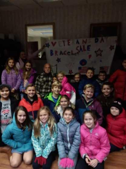 1st grade class of fairview elementary