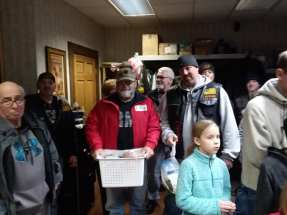 Erie Veterans Receive Thanksgiving Baskets -6