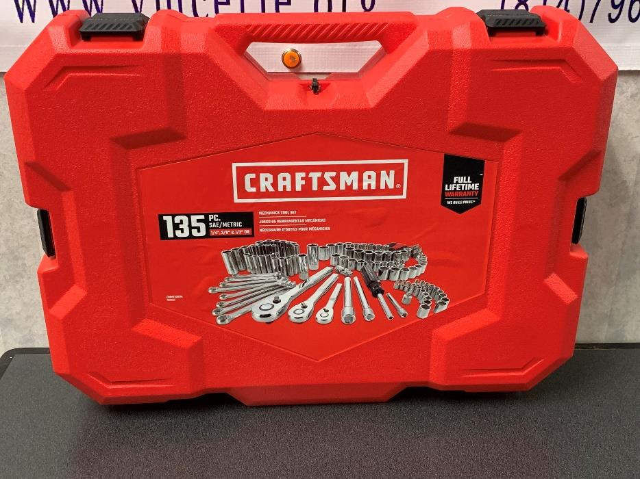 135 Pc. Craftsman Tool kit