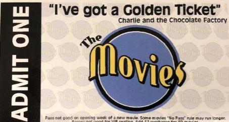 2 Movie Tickets