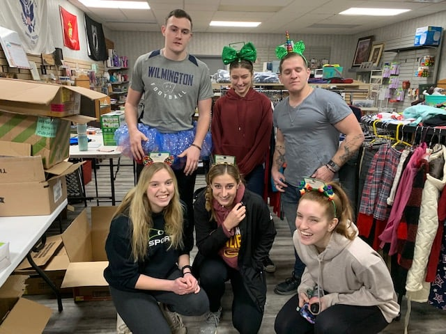 Mercyhurst University Students Brighten Our Day