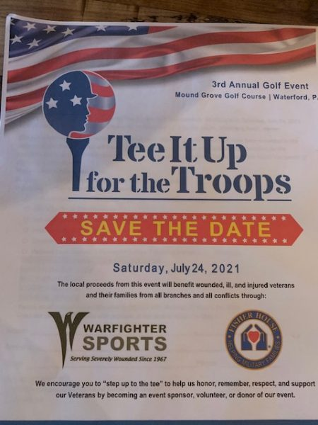 TEE up for troops