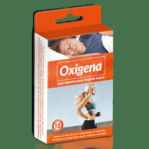 Oxygena - Tiras nasales para respirar mejor