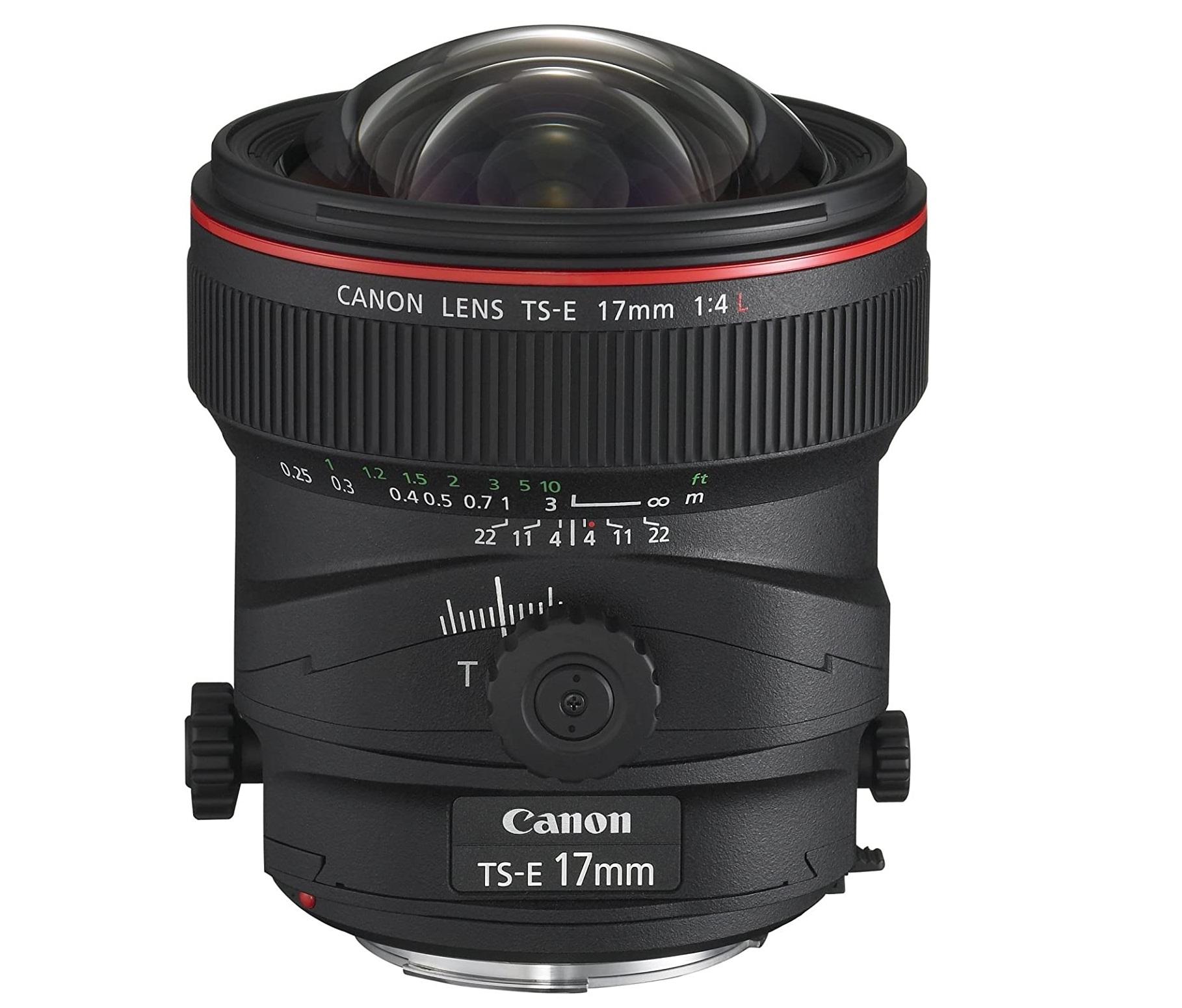 Shift & Tilt 17mm Lens (EF Mount)