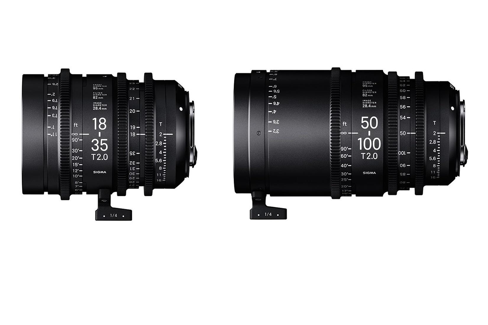 Cine Zoom Pair (18-35mm & 50-100 T2 EF)