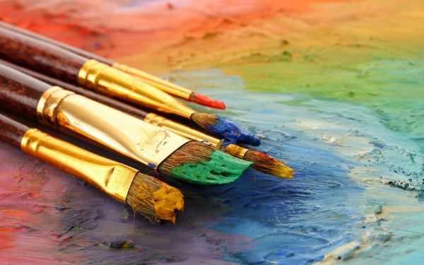 виды красок