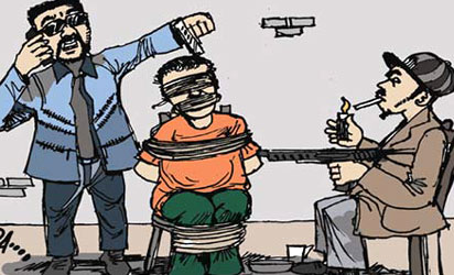 Kidnap-syndicate