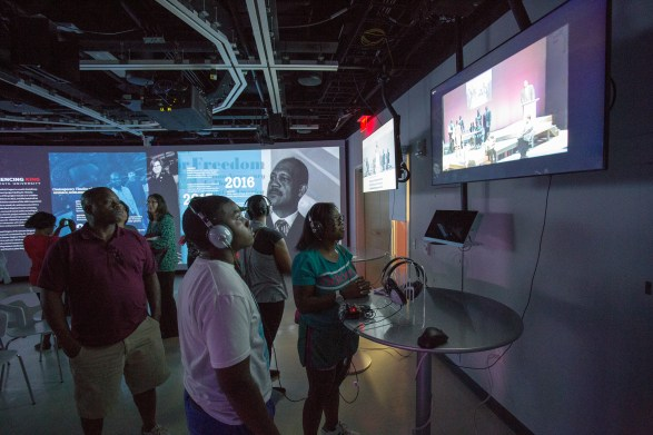 Experiencing King at NC State University, 2016 – James B. Hunt Jr. Library