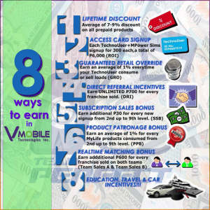 8 Ways To Earn Through VMobile