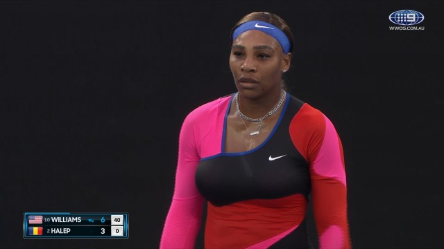 Australian Open: Serena Williams v Simona Halep