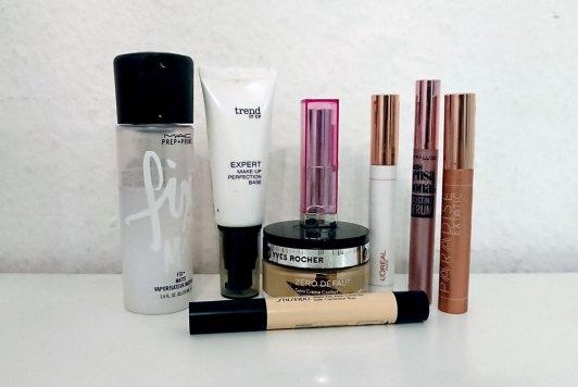 Alltags Make-up Routine