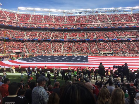 Anthem kneeling: Important message is getting lost