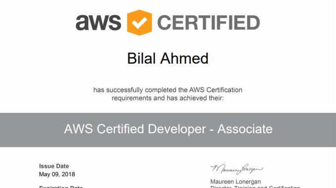 Passing the AWS Certified Developer – Associate Exam #AWS ...