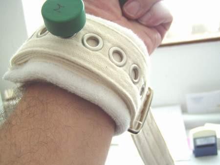 betegrögzítő rendszer kéz rögzítő heveder bujtató 3
