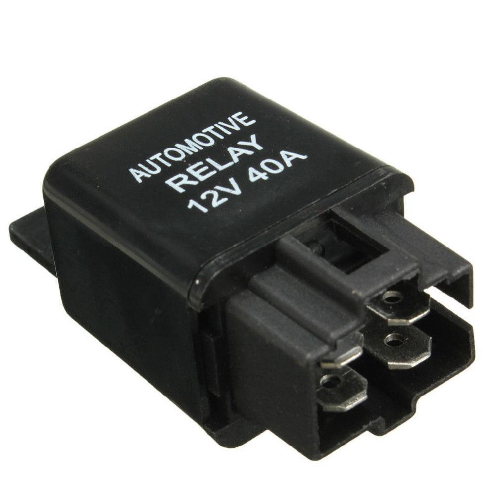 medium resolution of tookie 1pc plastic dc 12v 40a car 4 pin spst automotive alarm relay car black