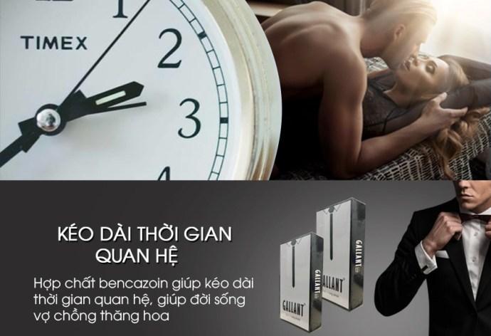 Bao cao su ok Gallant 4 one 1