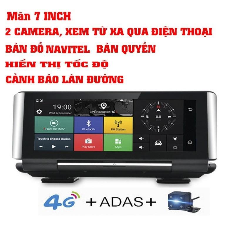 Camera hành trình cao cấp 4G Viettech N93Plus+Thẻ 32gb