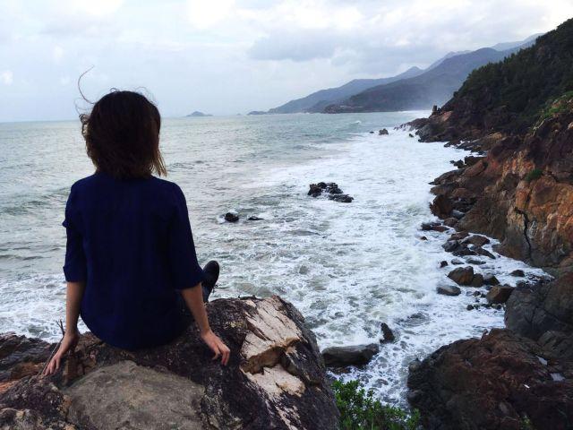 Trải nghiệm du lịch Việt Nam ở Quy Nhơn tại bãi Tiên Sa