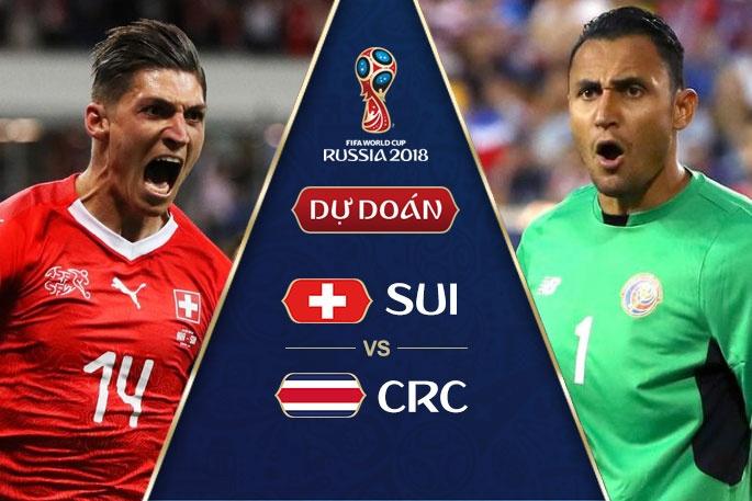 Thụy Sỹ vs Costa Rica