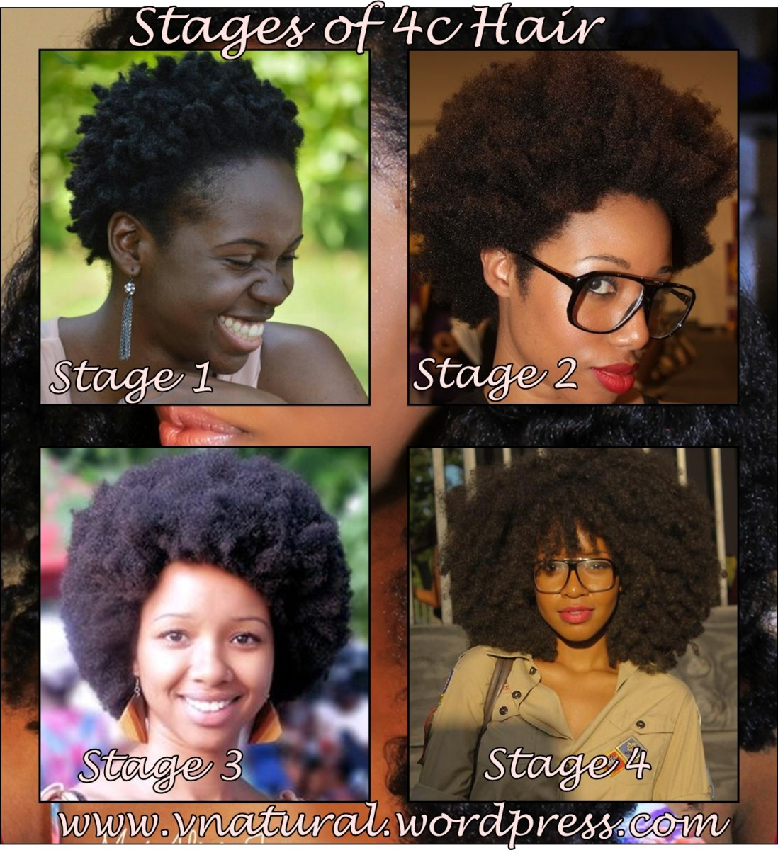 natural hair inspiration stages