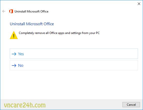 Sửa lỗi Office 2016 Error Code 30180-4