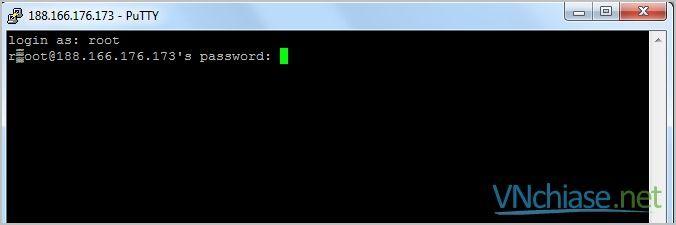 mật khẩu digitalocean