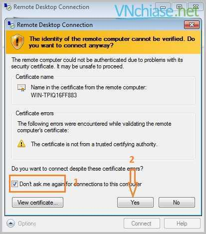 cách sử dụng vps windows - vnchiase.net