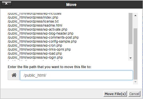 Cài đặt WordPress trên Host Cpanel