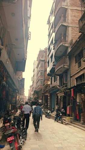 Улица Катманду