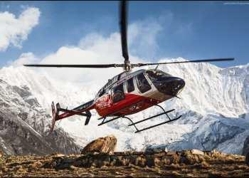 вертолет Непал