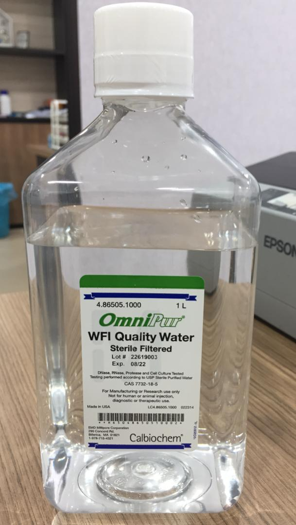 WFI QUALITY WATER STERILE FILTERED | VNK Supply & Services