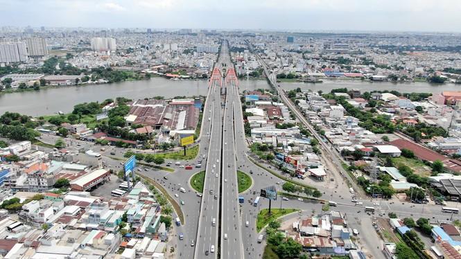 Chung cư 'trăm hoa đua nở' dọc đại lộ đẹp nhất Sài Gòn - ảnh 7