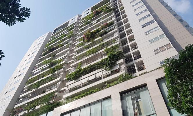 Cận cảnh khu đất công làm bãi xe 'biến hình' thành cao ốc ở Hà Nội - ảnh 5