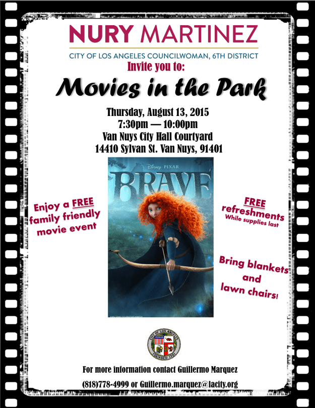 Van Nuys Movie Night ENG