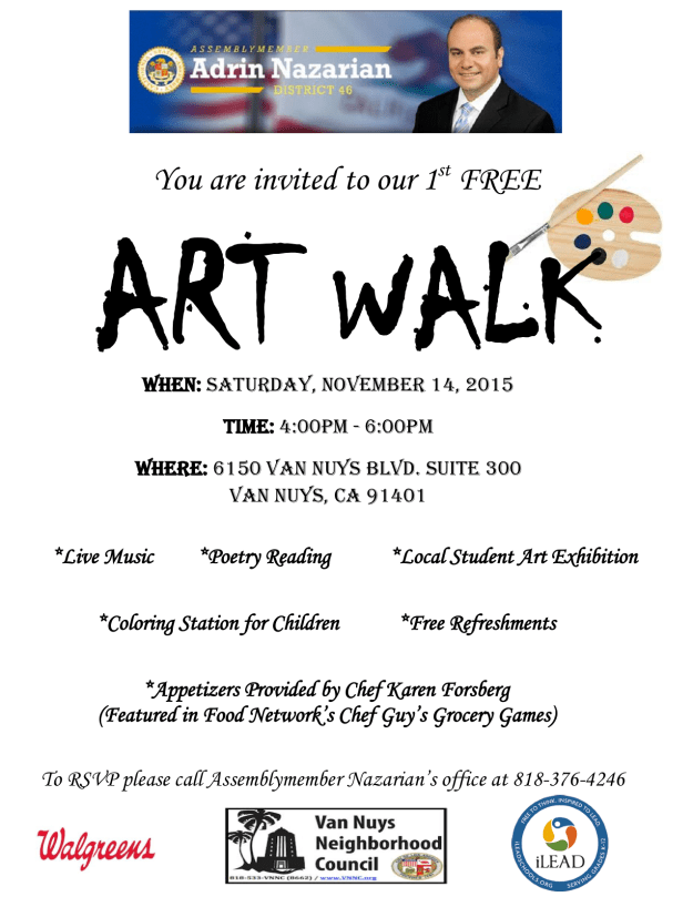 Art Walk Flyer