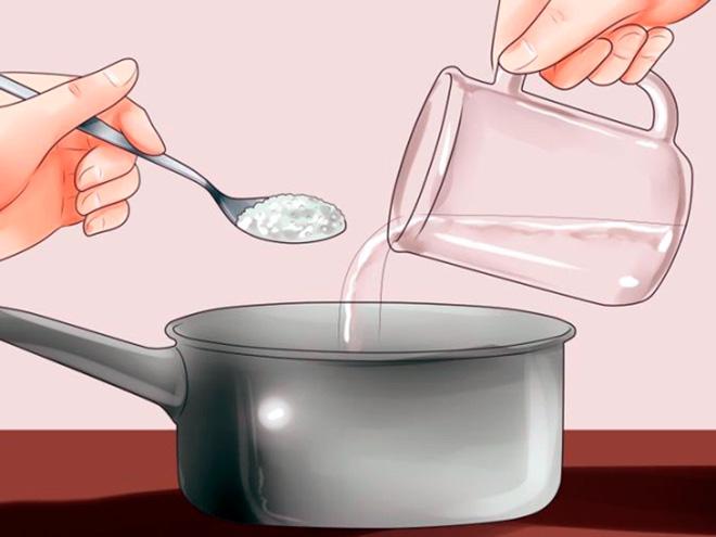 Как сделать соляной раствор для промывания носа